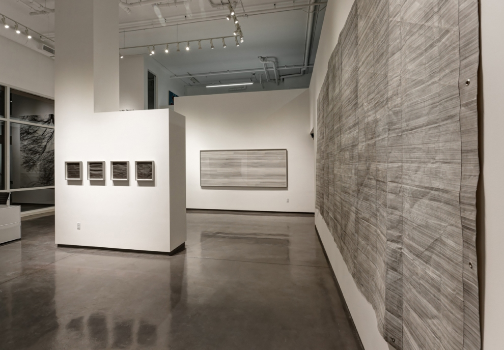 an installation view of 'distance'.