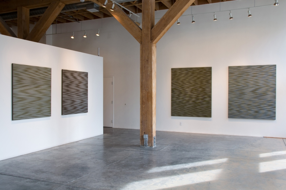 installation view of  'lakewater 2'